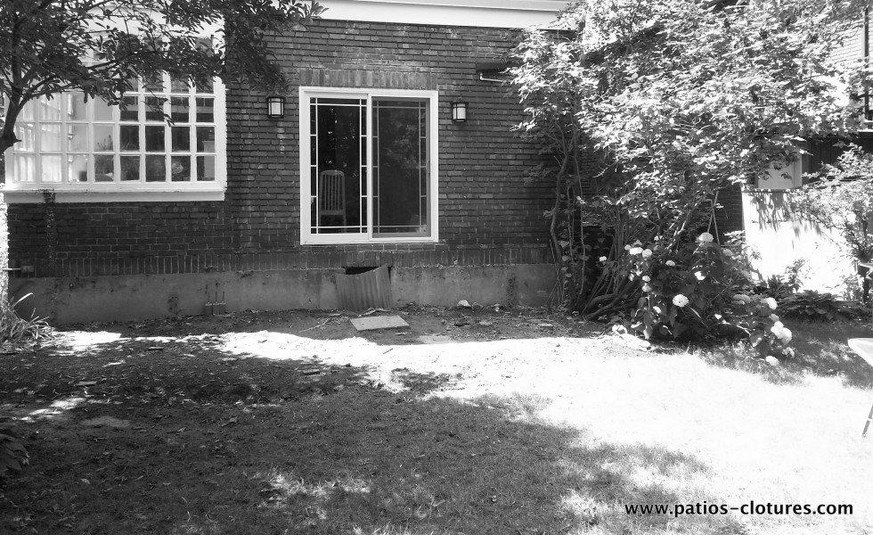 patio avec courbes Johnskareng avant 2