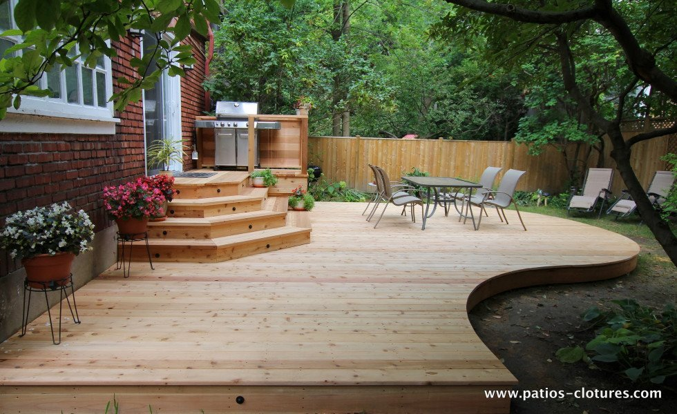 patio avec courbes Johnskareng 1